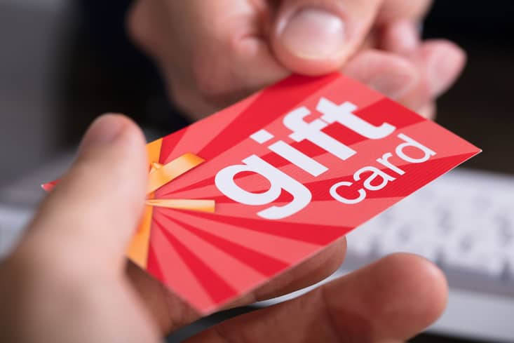 can you regift a gift card