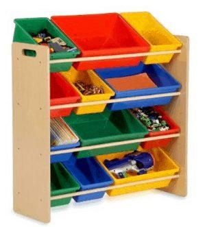 Storage Bin Primary Colors