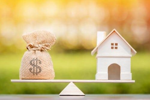 Mortgage free living.