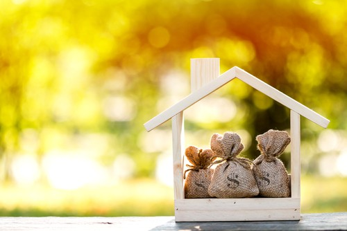 Living mortgage free.