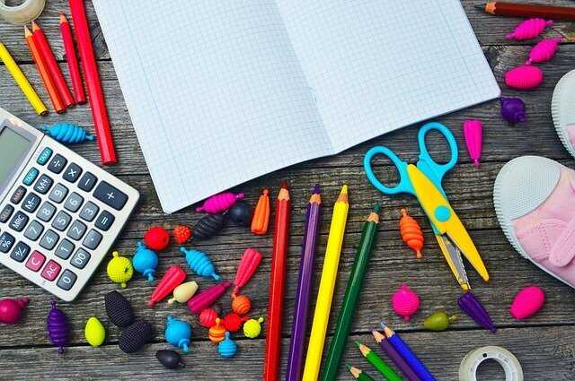 Frugal homeschooling supplies.